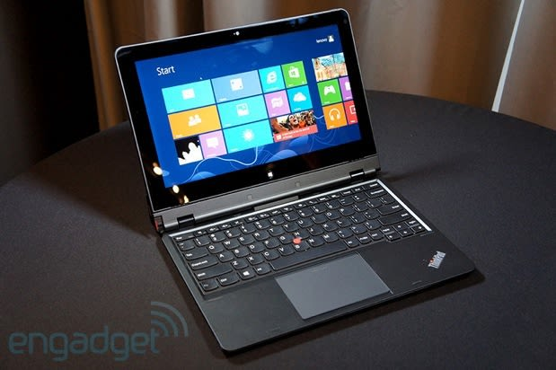 Lenovo ThinkPad Helix official: 11 6-inch reversible screen, arrives