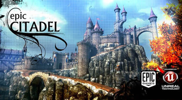 Unreal Engine 3's Epic Citadel demo now available on Android