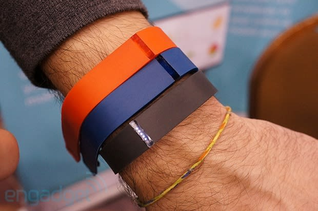 Fitbit Flex hands-on at CES 2013 (video)
