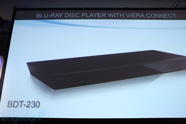 Panasonic has four new Blu-ray players and a few new media streamers