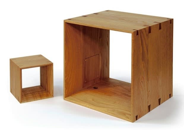 Jvc Kenwoods Wooden Cube Speakers Offer Realtime Streaming Of