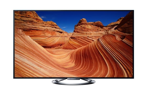 Sony launches the Bravia KDL-W900A LED connected 3DTV at CES