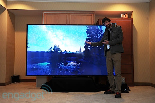 Westinghouse's 110-inch 4K television costs $300,000, is