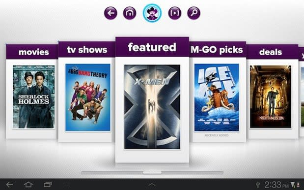 M-GO video on-demand movie service launches, streams to PCs
