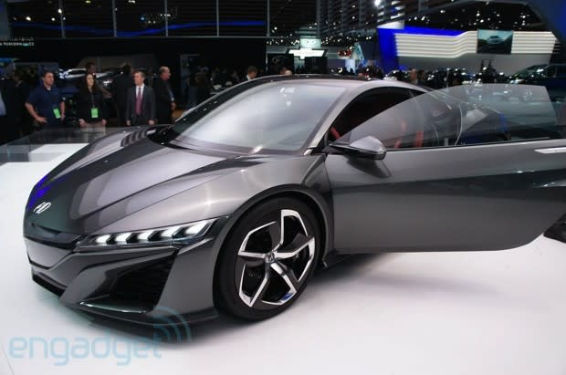 Acura Chose Last Year S Naias To Unveil The Reborn Nsx Heir An Epic Throne Of Motorsports Lineage But It Was Lacking A Few Things Most Notably