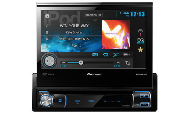 Pioneer breaks the road trip monotony with three new in-dash