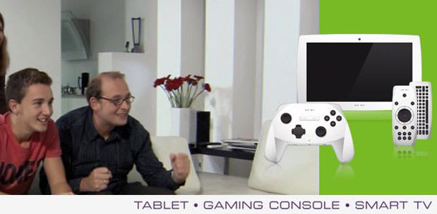Snakebyte gamepad evolves into Unu Android tablet, promises