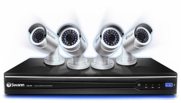 Swann Platinum-HD security system packs four 1080p cameras
