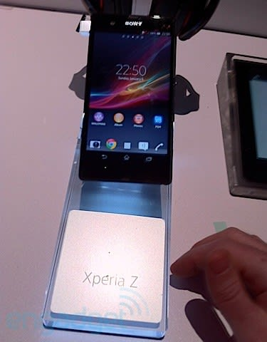 Sony Xperia Z Spotted Early On Ces Show Floor
