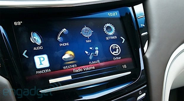 Cadillac to update CUE infotainment system for improved