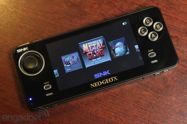 Neo Geo X additional game cart, system update, travel case