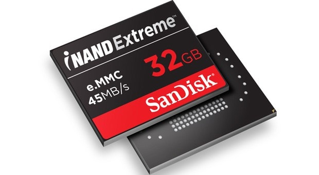 Tegra 4 reference tablets use SanDisk iNAND Extreme, mate a