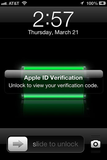 Apple brings two-step verification to iCloud and Apple ID users