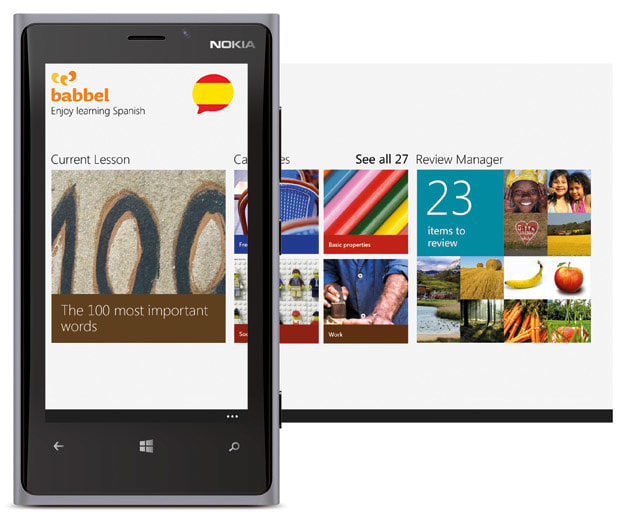 Babbel brings 11 language learning apps to Windows Phone 8, for free