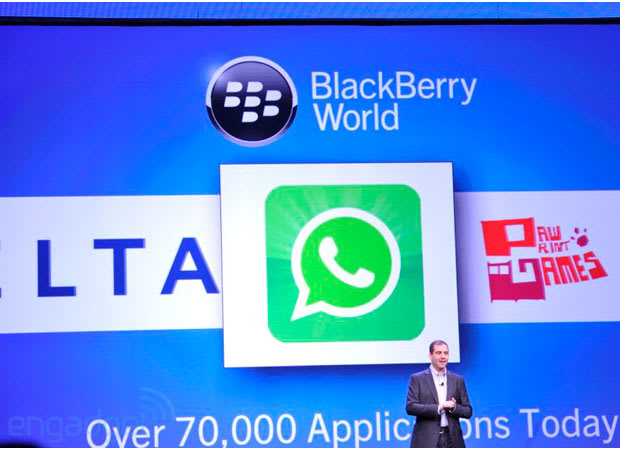 WhatsApp lands on BlackBerry 10, offers Z10 owners a BBM