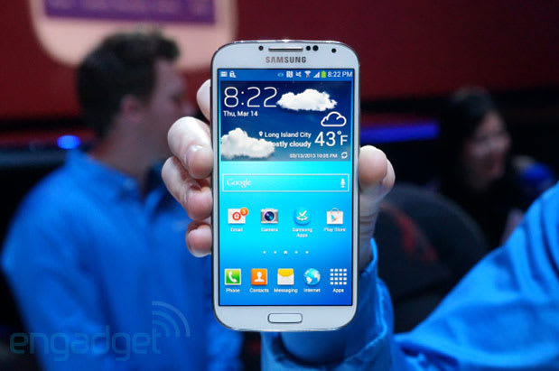Samsung Galaxy S 4 heads to AT&T for $250 on contract, pre-orders begin April 16th