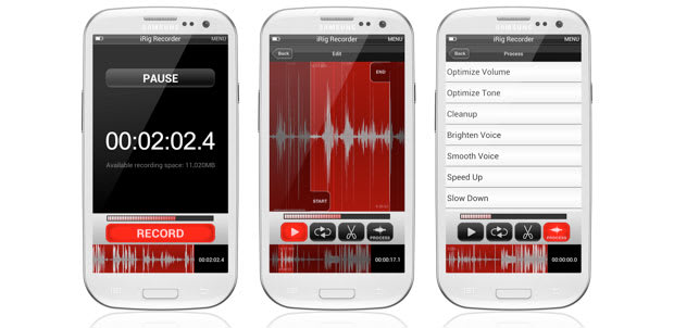 iRig Recorder arrives on Android, ready for your