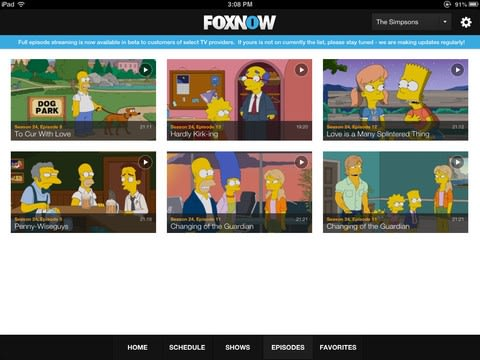 Fox mobile apps add TV Everywhere streaming, 24-hour sports network