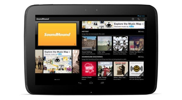 SoundHound now scavenging tunes in more tablet-friendly
