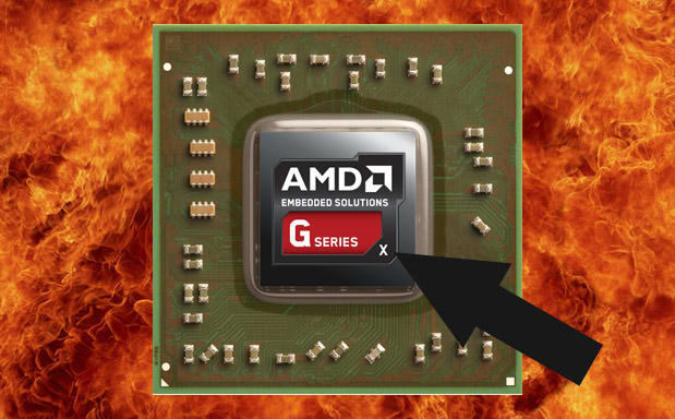 AMD reveals G-Series X embedded chips, drops a little ARM