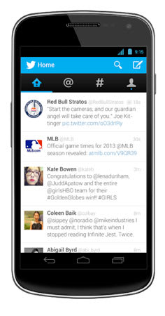 Twitter revamp brings native experience to Android, expanded