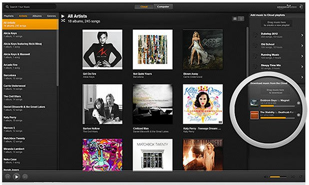 Amazon Cloud Player app comes to Mac