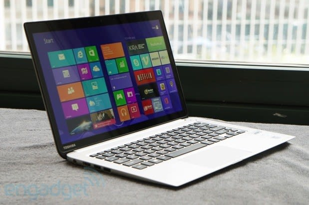 Toshiba Kirabook Review Toshiba Tries To Reinvent Itself With A