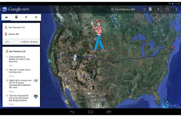 Google Earth 7 1 for Android introduces Street View and