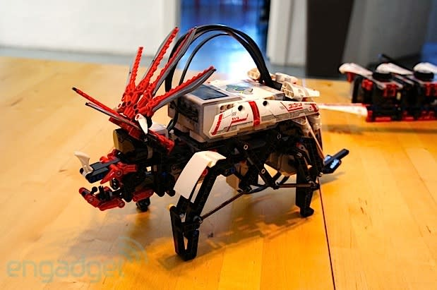 Lego Mindstorms EV3 intros three new models, ready for summer tour