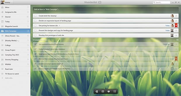 Wunderlist for Android and Windows gets Pro version, a few