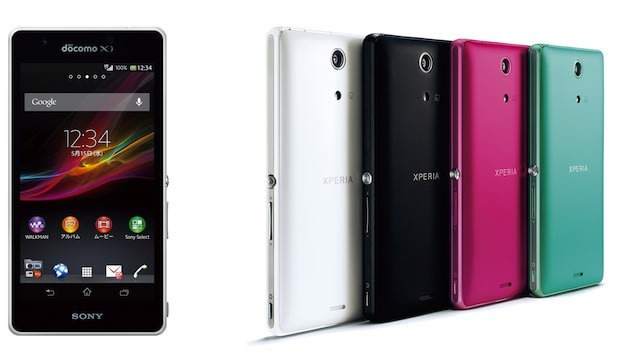 Sony's Xperia A Android 4 1 smartphone announced for NTT DoCoMo