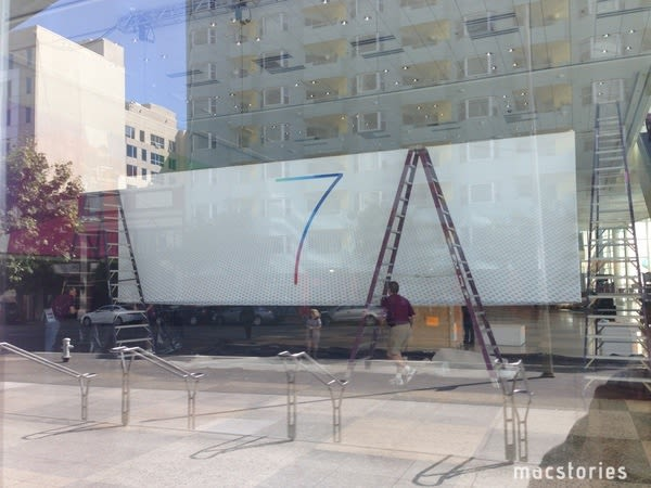 Apple puts up '7' banner in advance of WWDC, likely confirms new version of iOS (update: OS X too)