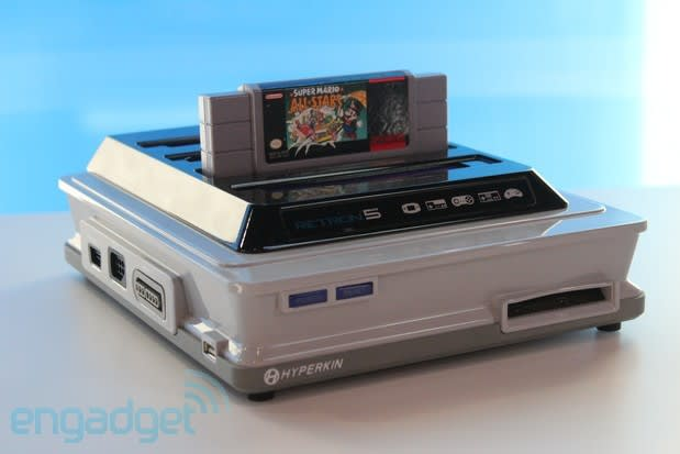 Hyperkin Retron 5 combines ten consoles into one on December 10 for $99 (updated)