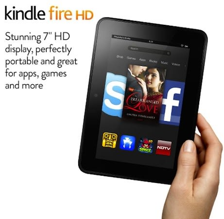 Amazon's bringing its Kindle Fire HD 7, 8 9 to India on June 27th