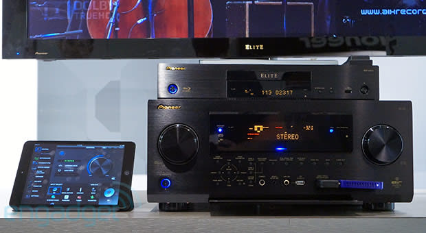 Pioneer's SC-79 uses HDBaseT to feed HDMI video throughout