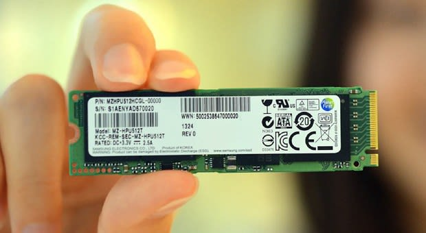 Samsung makes first PCIe-based SSD for Ultrabooks, we see