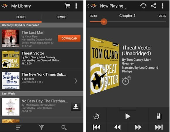 Audible For Android Gets Design Overhaul Improved Library