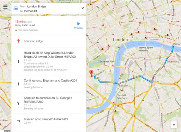 South London Map Google.Google Maps 2 0 For Ios Starts Rolling Out With Ipad Support Indoor