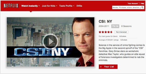 Netflix and CBS extend streaming deal, add CSI: NY and other