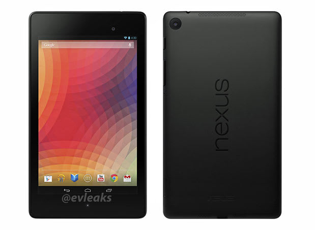 New Nexus 7 press shots leaked, spotted in Best Buy ad