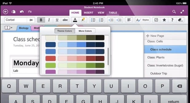 Microsoft overhauls OneNote apps for iOS and Android