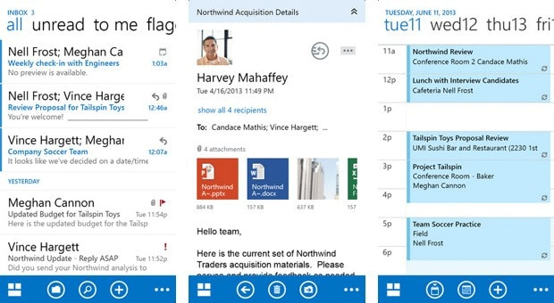 Outlook Web App comes to iOS devices in native form