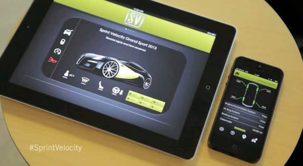 Sprint unveils Velocity Service Bus, puts your car's settings in the cloud