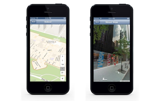 Google Maps SDK v1 4 for iOS brings Street View, indoor maps