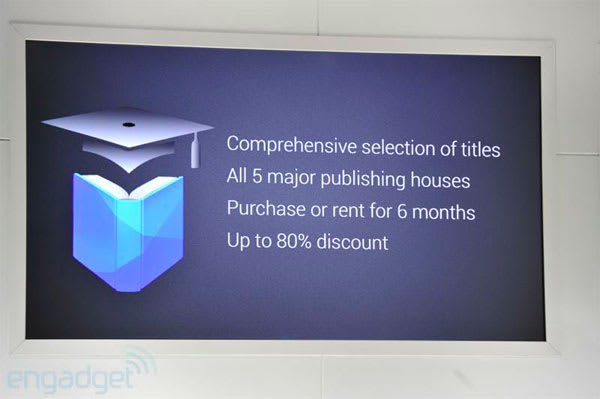 Google intros Play Textbooks for purchase and rent