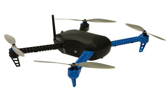 3D Robotics launches Iris quadcopter, for pre-assembled
