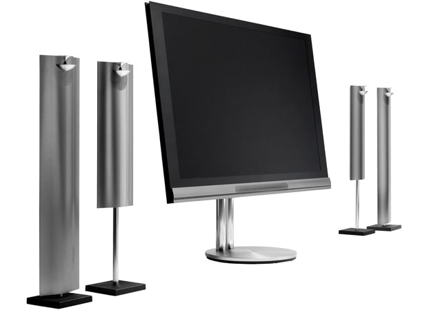 Bang & Olufsen's BeoVision 12-65 New Generation TV includes its own 7.1-channel sound module