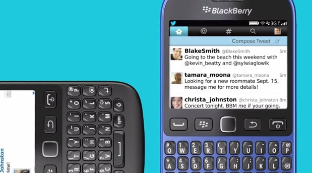 BlackBerry makes 9720 handset official with Curve-era specs