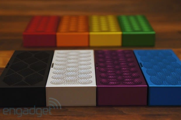 Jawbone intros Mini Jambox Bluetooth speaker and a music-streaming