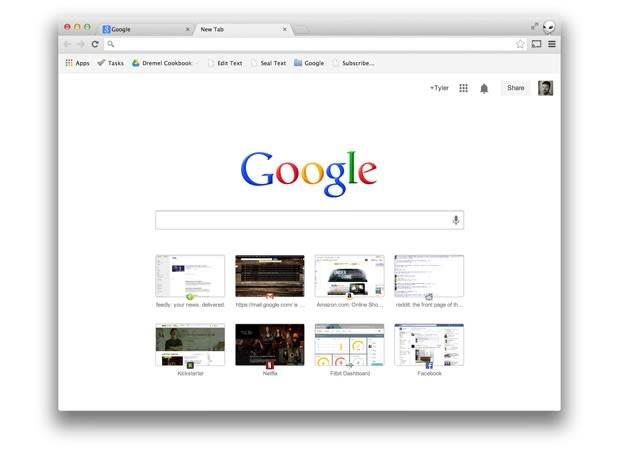 Google testing search-friendly tabs in stable versions of Chrome and